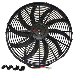 "16"" Universal Super Thin Electric Cooling Fan, Reversible (12V) (REF-16) 19176"