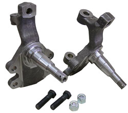 "GM Drop Spindles 2"", A, F, X, Body, Chevelle, Camaro, Nova, Disc Brake Spindles"