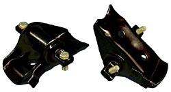 1964-73 Ford Mustang Spring Perch Set, Rubber
