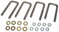 1948-64 Ford F-1 and Ford F-100 Truck, Leaf Spring Ubolt Kit, Front