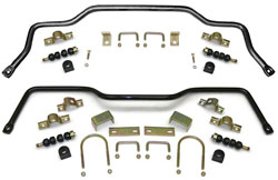 1955-57 CHEVY BELAIR/210/150/SEDAN, PERFORMANCE SWAY BAR KIT (FRONT & REAR) 19369