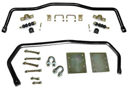 1958-64 Chevy Impala, Biscayne, Performance Sway Bar Kit, FRONT and REAR