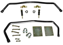 1965-70 Chevy Impala Performance Sway Bar Kit, FRONT and REAR