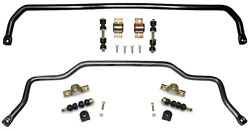 1967-92 Chevy Camaro and Pontiac Firebird Performance Sway Bar Kit, Front and Rear