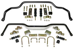 1962-79 Chevy Nova Performance Anti Sway Bar Kit, Front and Rear