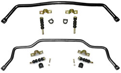 1964-66 Ford Mustang FRONT and REAR Sway Bar Combo Kit