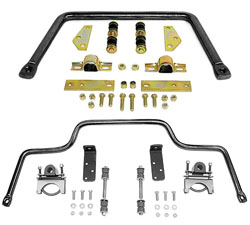 1955-59 Chevy 3100 Truck Anti Sway Bar Kit, High Performance, Front and Rear