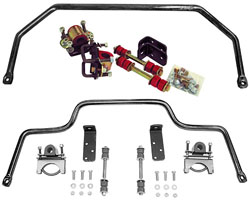 1953-56 Ford F-100 TRUCK, PERFORMANCE SWAY BAR KIT (FRONT & REAR)(SBK5356)