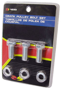 CRANK PULLEY BOLTS, SET (POL4693)