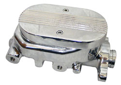 Chromed Aluminum GM Style Master Cylinder with Custom Lid