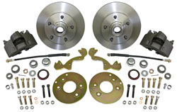 1954-56 FORD & MERCURY CAR, FRONT DISC BRAKE CONVERSION KIT (WBKS5456F)