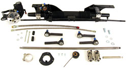 1965-70 Ford Mustang Power and Manual Rack and Pinion Steering Conversion Kit