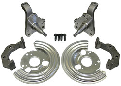 62-74 MOPAR B & E BODY, SPINDLE DISC BRACKET KIT (DBS6274)