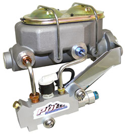 Disc brake Master Cylinder and Proportioning Valve Kit, Aluminum High Performance 19668