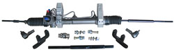 1948-56 Ford F-1 Truck and Ford F-100 Truck, Power Steering Rack and Pinion Kit