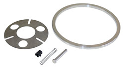 1955-68 CHEVY FULLSIZE, STEERING WHEEL ADAPTER KIT, STOCK GM STEERING WHEEL (SWAK5568)