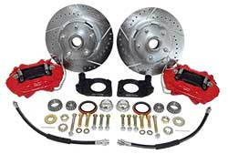 1964-67 Ford Mustang Disc Brake Conversion