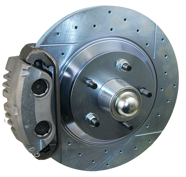"1965-70 Chevy Impala Disc Brake Conversion Kit, 13"" Rotors, Dual Piston Calipers"