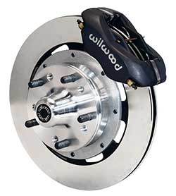 "Wilwood Dynalite Disc Brake Conversion Kit for GM A F X Body, Chevelle, Camaro, Nova, 12.19"" Rotor"